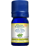 Divine Essence Holy Basil Organic Essential Oil