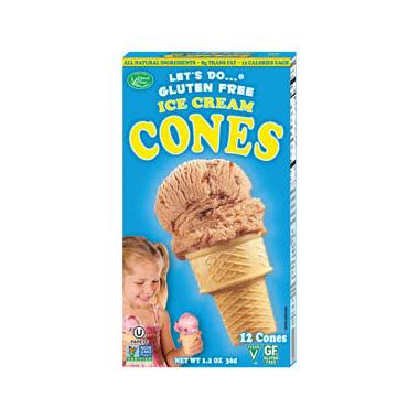 Let\'s Do...Gluten Free Ice Cream Cones
