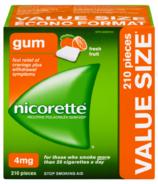 Nicorette Nicotine Gum Fresh Fruit 4mg