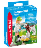 Playmobil Special Plus Vet with Calf