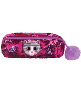 Ty Flippables Kiki the Cat Sequin Pencil Bag