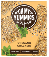 Oh My Yummies Superfood Crackers Oregano