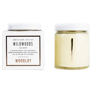 Woodlot Wildwoods Coconut Wax Candle