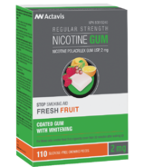 Actavis Nicotine Gum Fresh Fruit 2MG