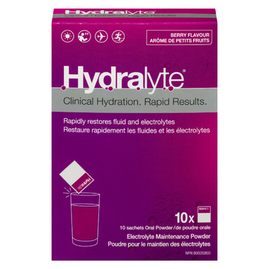 Hydralyte Electrolyte Maintenance Powder Berry Flavour