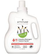ATTITUDE Nature+ Laundry Detergent Pink Grapefruit