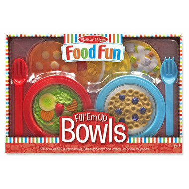 Melissa & Doug Create-A-Meal Fill \'Em Up Bowls