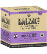 Balzac's Coffee Roasters Bards Blend 100% Compostable Coffee Pod