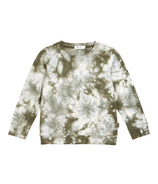 Miles Baby Long Sleeve Knit Top Green Tie Dye