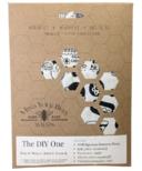 Mind Your Bees Wraps Doodles DIY Beeswax Food Wrap Kit