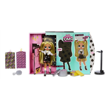 L.O.L. Surprise OMG Alt Grrrl Fashion Doll with 20 Surprises