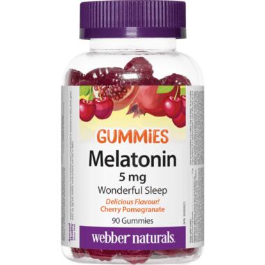 Webber Naturals Melatonin 5 mg