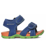 Bogs Whitefish Solid Sandal Blue Multi