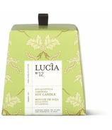Lucia Eucalyptus & Gardenia Soy Candle