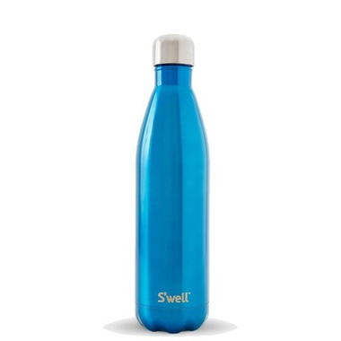 S\'well Shimmer Collection Stainless Steel Water Bottle Ocean Blue