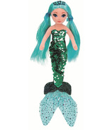 Ty Flippables Waverly The Sequin Teal Mermaid Regular