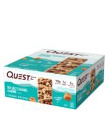 Quest Nutrition Snack Bar Sea Salt Caramel Almond Case