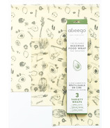 Abeego Flats Variety Pack Natural Food Wraps