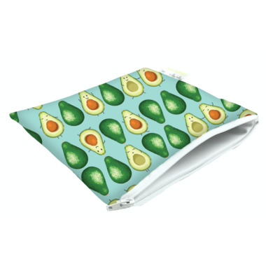 Itzy Ritzy Snack Happens Reusable Snack & Everything Bag Guac Star