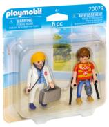 Playmobil Docteur & Patient