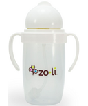 Zoli BOT 2.0 Straw Sippy Cup White