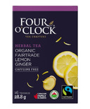 Four O'Clock Lemon Ginger Herbal Tea