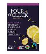 Four O'Clock Herbalist Lemon Ginger Herbal Tea
