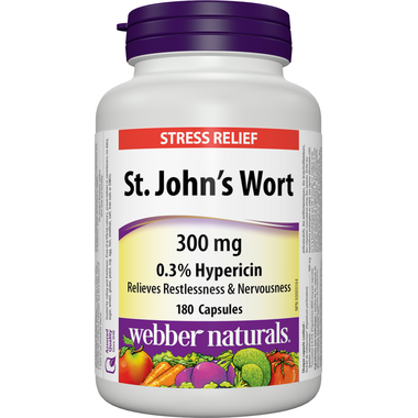 Webber Naturals St. John\'s Wort Extract 300 mg