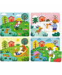 Vilac Puzzle Four Seasons Wood