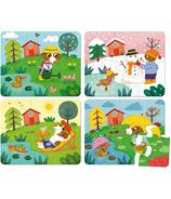 Vilac Puzzle Four Seasons Wood