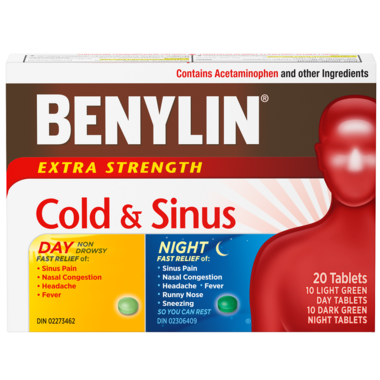 Benylin Extra Strength Cold & Sinus Tablets