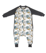 Nest Designs Bamboo Long Sleeve Cozy Sleep Suit 2.5 TOG Wild Tiger
