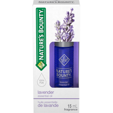 Nature\'s Bounty Essential Oil Lavender