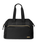 Skip Hop Mainframe Wide Open Diaper Satchel Black