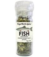 Cape Herb & Spice Moulin de tabler Assaisonnement pour poisson