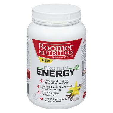 Boomer Nutrition Protein Energy Vanilla