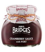 Mrs. Bridges Cranberry Sauce with Port