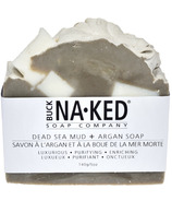 Buck Naked Soap Company Dead Sea Mud & Argan Soap