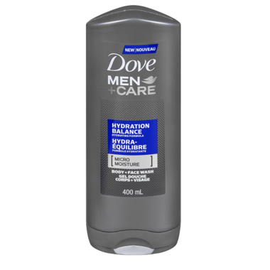 Dove Men +Care Hydration Balance Micro Moisture Body & Face Wash