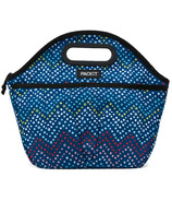 PackIt Freezable Traveler Lunch Bag Dottie Chevron