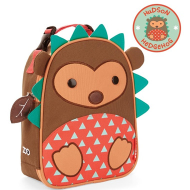 Skip Hop Zoo Lunchies Insulated Lunch Bag Hedgehog