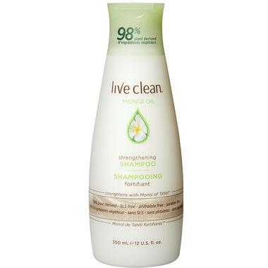 Live Clean Monoi Oil Strengthening Shampoo