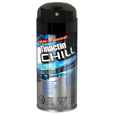 Tinactin Chill Liquid Spray