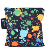 Colibri Reusable Snack Bag Large in Splatter