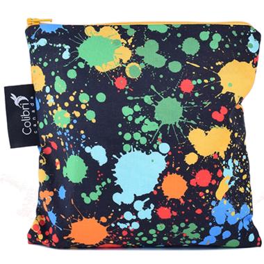Colibri Reusable Snack Bag Large in Splatter