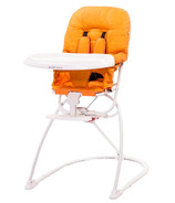 Guzzie & Guss Tiblit High-Chair With Microfiber Orange