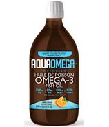 AquaOmega Omega-3 Fish Oil AEP Extra EPA Orange