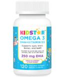 KidStar Nutrients OMEGA 3 DHA + Vitamin D3 Chewables