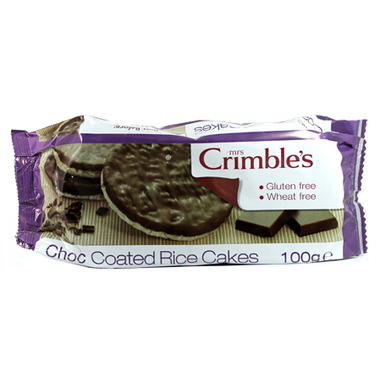 Mrs. Crimble\'s Chocolate Coated Rice Cakes