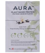 AURA Nutrition Plant Based Protein Sachets Vanilla